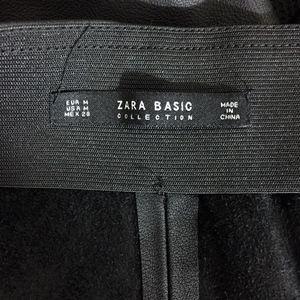 Zara Pants - Zara  | Ankle Lace-Up Faux Leather Leggings